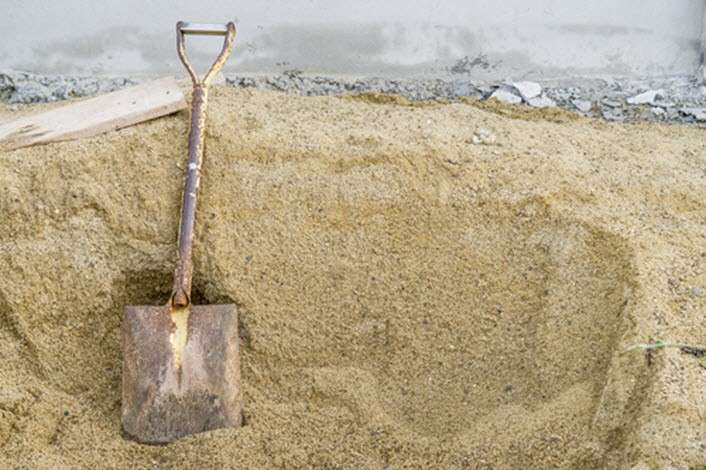 Preço areia fina para reboco