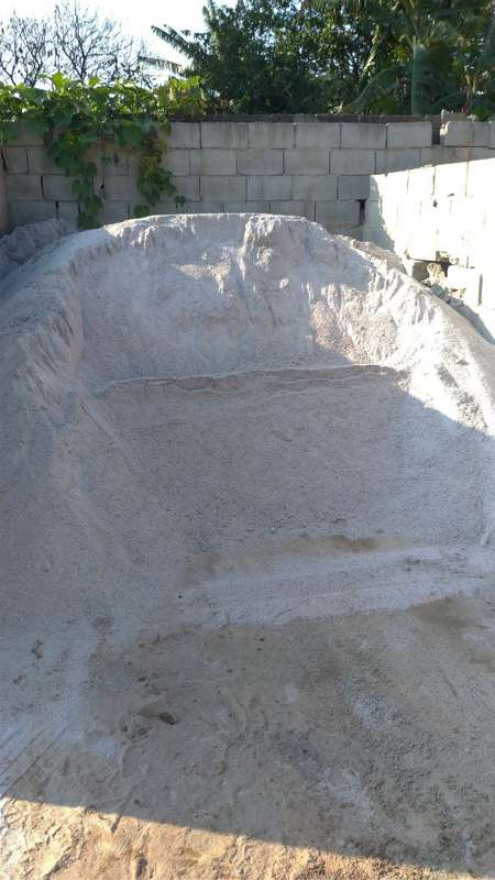 Preço de areia e pedra